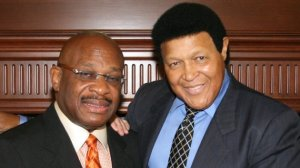 Chubby Checker and his Florida attorney, Willie Gary.